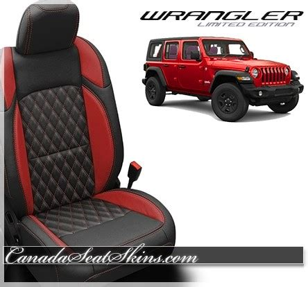 2018 jeep wrangler katzkin tekstitch custom leather upholstery