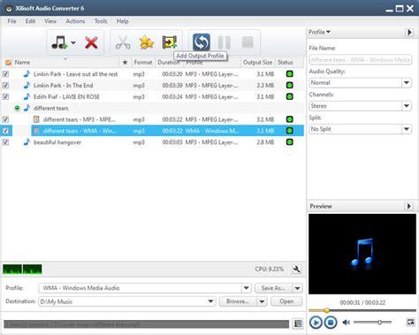 Special Stereo Converter xilisoft audio converter 6 0 9 build 0806