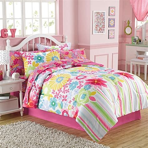 comforters at bed bath and beyond buy bouquet 6 piece twin comforter and sheet set from bed