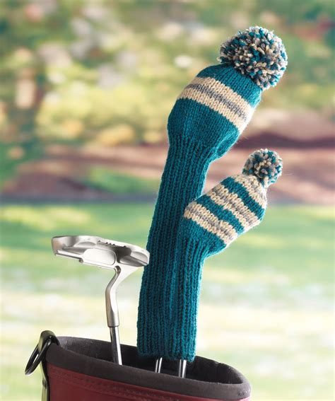 Knit Golf Covers Pattern A Knitting