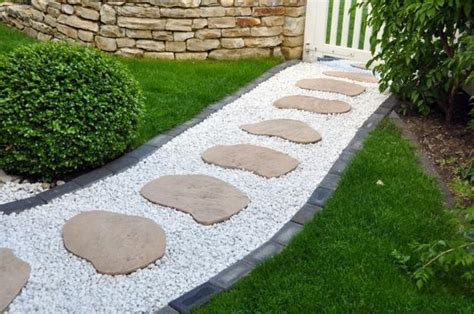 30 stone walkways and garden path design ideas
