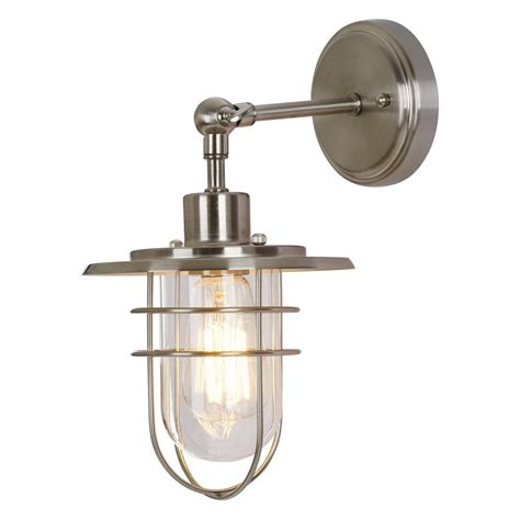 Nickel Wall Sconce Alsy 1 Light Brushed Nickel Wall Sconce 20531 001 The Home Depot