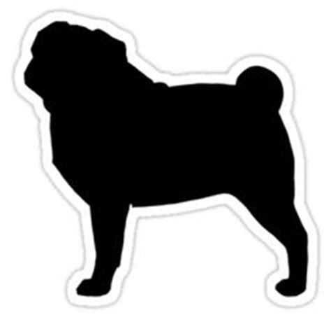 pug silhouette clip pug silhouette by jenn clipart panda free clipart images