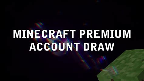 Minecraft Giveaway 2017 - giveaway minecraft premium account sorteo minecraft premium 2017 free youtube