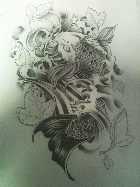 two koi fish tattoo designs 1000 ideas about koi fish on fish