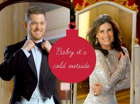 baby can i hold you testo baby it s cold outside di idina menzel michael bubl 233