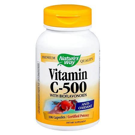 vitamin c supplement nature s way vitamin c 500 dietary supplement capsules