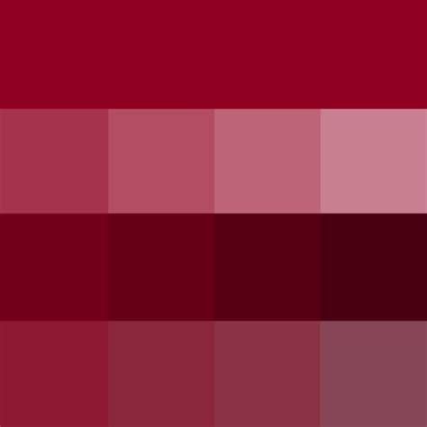 burgundy hue tints shades tones hue color with tints hue white