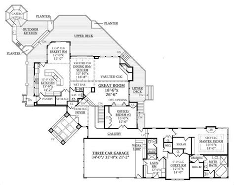 tree house floor plan tree top treasure 6940 5 bedrooms and 3 baths the