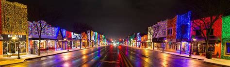 rochester michigan xmas lighting rochester community michigan history