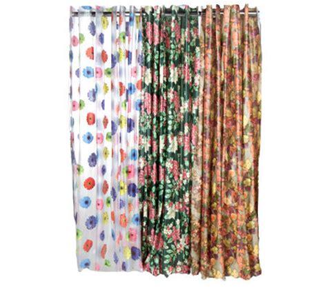 seasonal shower curtains hookless 3 pack vinyl seasonal shower curtains qvc com