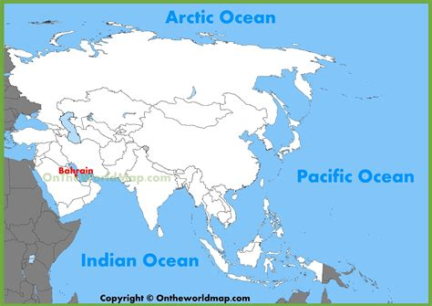 bahrain on world map bahrain location on the asia map