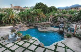 Cool Backyard Fire Pits by Rock Pools Corona Ontario California Pools