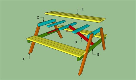 build a picnic bench pdf diy build wood picnic table download aniline dye wood