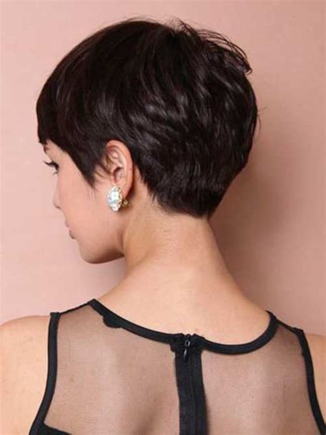 ladies hair styles very long back and short top and sides pixie haircut back view the best short hairstyles for