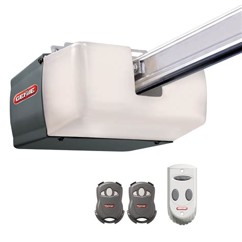 Genie Garage Door Opener 1 2 Hp Directlift Screw Drive Outside Garage Door Opener
