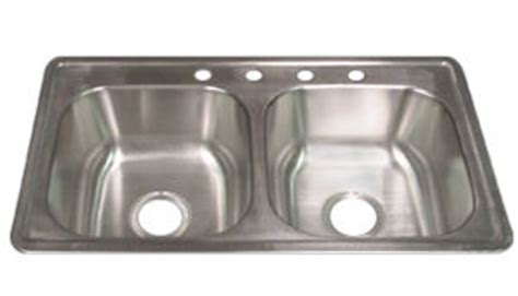 mobile home sinks 33x19 elkay 174 kingsford 33 quot x 19 quot x 6 quot stainless steel kitchen