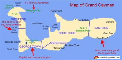 map of cayman islands grand cayman map where in the world is this island located
