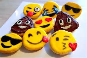 selber backen kuchen emoji kekse rezept emoji cookies backen leckere