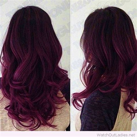 black with purple colour in their hair 17 best ideas about dark purple hair on pinterest plum