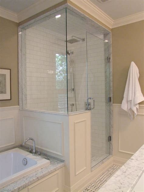 half bath with shower half wall shower on small bathroom layout
