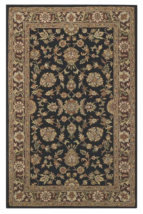 caple rugs capel kingship 3031 370 black brown rug