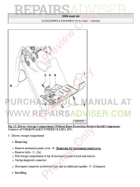 download car manuals pdf free 2008 audi a4 lane departure warning audi a4 2002 2008 pdf manuals download