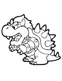 bowser coloring pages bowser coloring page h m coloring pages