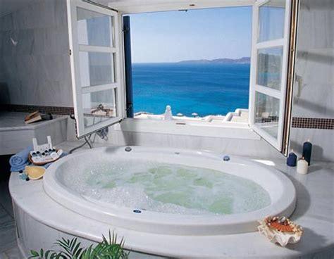 hot tub in bathroom jacuzzi bathroom