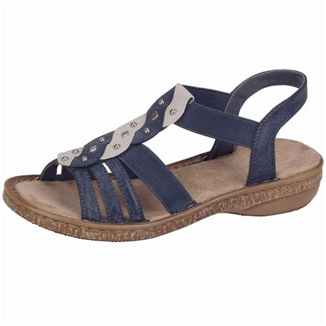 comfortable sandals for women rieker antistress costa rica women s comfortable denim