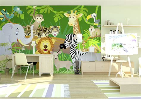 themed childrens room wallpaper inspiration photowall