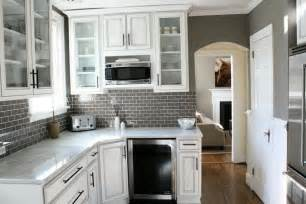 gray glass tile kitchen backsplash gray subway tile kitchen backsplash home design ideas
