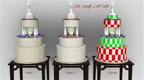 Wedding Cake In The Sims 4 by Mod The Sims Wedding Cakes