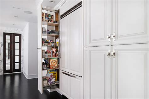Kitchen Wall Pantry Cabinet by Pull Out Pantry Cabinets Transitional Kitchen