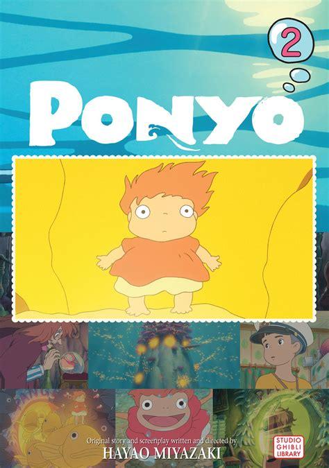 ponyo comic vol 2 book by hayao miyazaki
