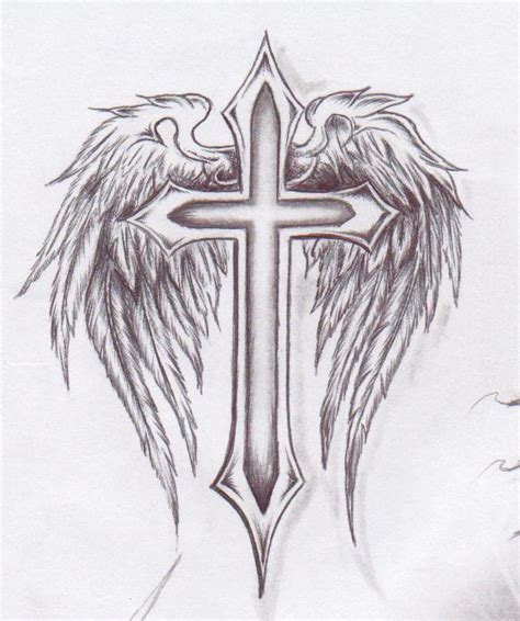 cross with wings tattoo meaning cross with wings guccimafia