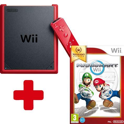 mario console wii mini console mario kart wii nintendo official uk store