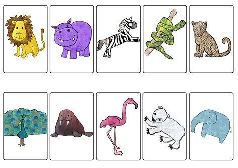 printable animal flip book books articulation360