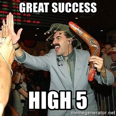 Great Success Meme - steemit