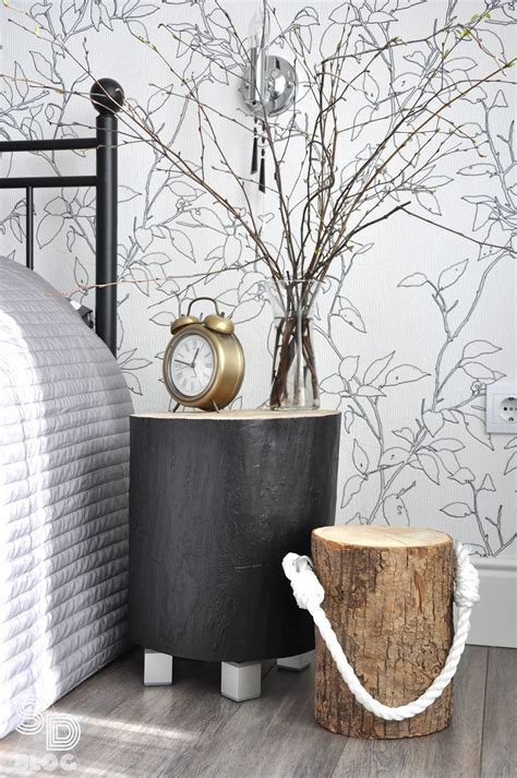 Tree Stump Nightstand How To Upcycle Tree Stumps Into Furniture 8 Ideas