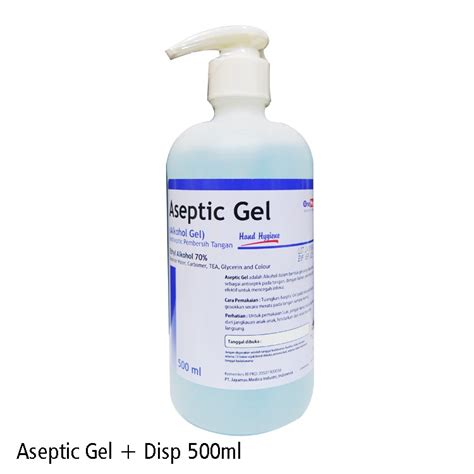 aseptic gel mldispenser onemed shopee indonesia