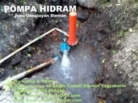 Pompa Air Mini Sawah membuat pompa mini hydram funnycat tv