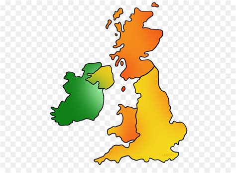 clipart uk great britain map of uk and ireland isles blank