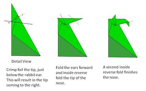 Crimp Fold Origami - petromagne s origami seahorse