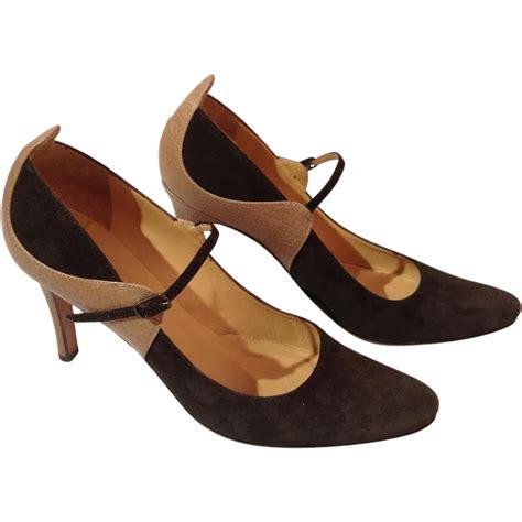 maryjane high heels max mara high heels from auntiesattic on ruby