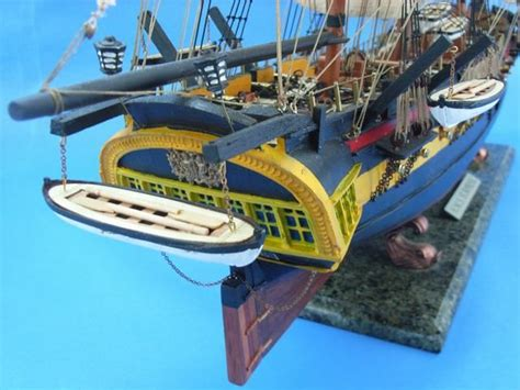 12 5x1x4cmcm Wooden Fish Ornaments Navy Dekor master and commander hms model ship 38 quot limited