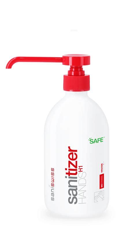 sanitizer hands  hand sanitizer powered  bioethanol saniswiss