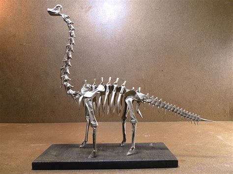 Skeleton Origami - mind blowing origami dinosaur skeletons origami me