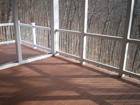 Decorative Deck Balusters December 2011 St Louis Decks Screened Porches