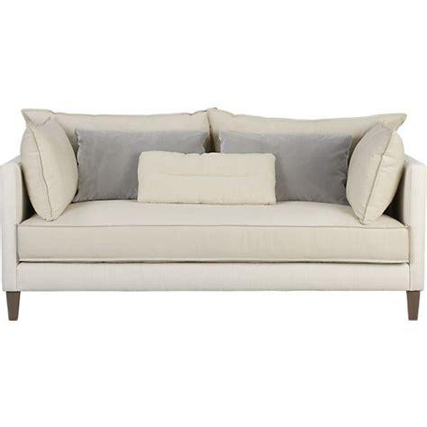 Crate And Barrel Apartment Sofa by Asana Apartment Sofa Crate And Barrel